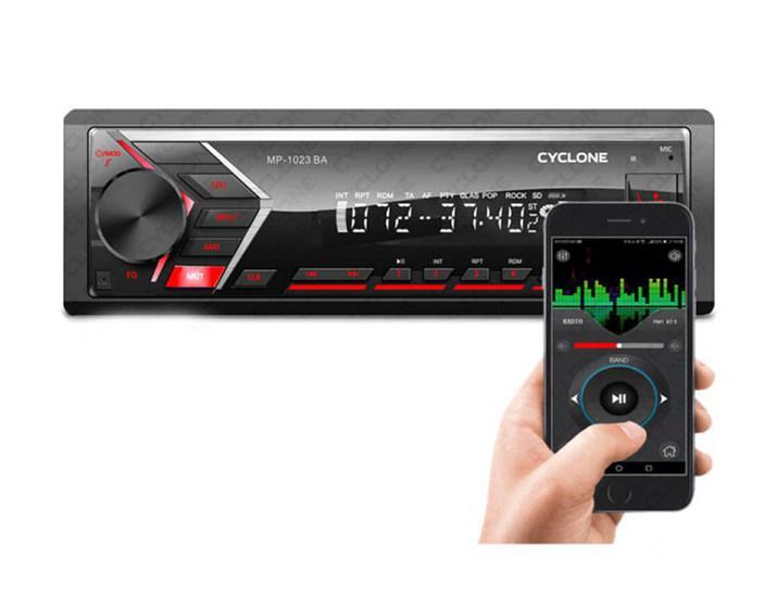 Автомагнітола CYCLONE MP-1023R BA (Micro SD, Bluetooth, FM, USB,гарантія 12 міс)