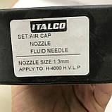 Змінне Сопло для фарбопульта H-4004, діаметр 1,3 мм ITALCO NS-H-4004-1.3, фото 3