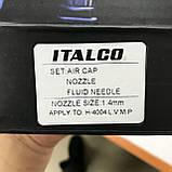 Сопло сменное для краскопульта H-4004 LVMP, диаметр 1,4 мм ITALCO NS-H-4004-1.4LM, фото 3