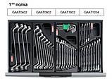 Візок з набором інструментів для СТО TOPTUL (Pro-Line) 7 секцій 229 од. GCAJ0014, фото 2