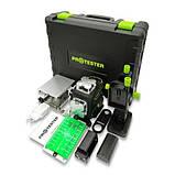 Профессиональный лазерный уровень PREMIUM, 4x360°(LCD, Bluetooth, ДУ, зеленый луч) PROTESTER LL516G, фото 3