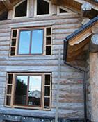 Энергоэффективное остекление деревянного дома 3