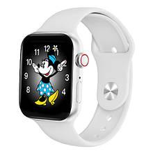 Смарт часы Watch Series 7 W78Pro 44mm Aluminium white