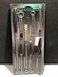 Щетки для чистки краскопульта набор 17ед. TOPTUL GDAR1701, фото 3