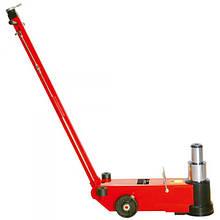 Домкрат для вантажних автомобілів 50т/25т пневмо-гідравлічний 235-352/457+120 мм (дод вставки) TORIN TRA50-2A