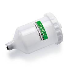 Бачок для фарбопульта пластиковий 600 мл (внутрішня різьба M16*1.5) TOPTUL KALN0160