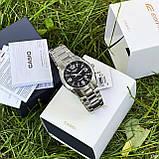 Casio EF-125D-1AVEG Silver-Black, фото 3