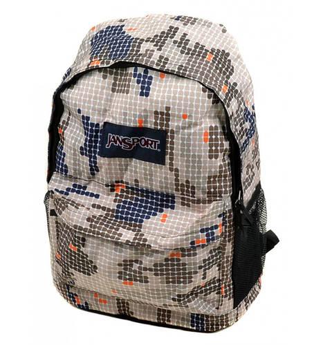 Повседневный молодежный рюкзак 28 л. Jansport 3331-4 бежевый