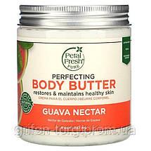Petal Fresh,натуральное масло крем для тела и рук, body lotion улучшающее состояние кожи, нектар гуавы 237 мл, фото 3