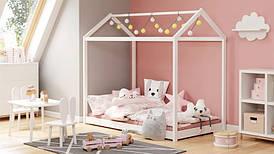 Ліжко дитяче YOGI 80х160 білий (Halmar)