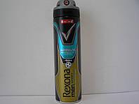 Аерозольний чоловічий дезодорант антиперспірант Rexona Sport Defenge 150 мл (Рексона Спорт Дефенже)