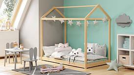 Ліжко дитяче YOGI 80х160 сосна (Halmar)