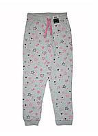 Спортивные штаны на флисе для девочки 128/134