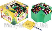 Воскові крейди Crayola 152 штук з бонусом вбудована точилка