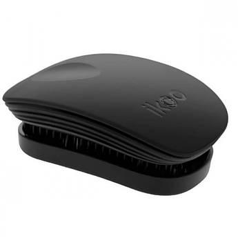 Расческа-детанглер Ikoo Brush Pocket Black Classic