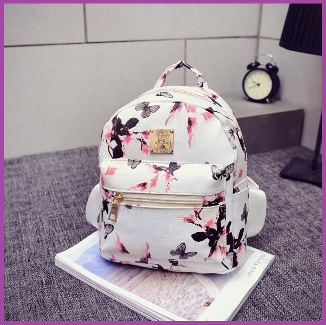 Рюкзак городской красивый, Стильный женский рюкзачок, Красивый маленький рюкзак, Женский рюкзак для города