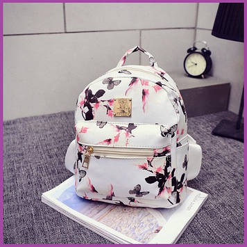 Рюкзак міський красивий, Стильний жіночий рюкзак, Красивий маленький рюкзак, Жіночий рюкзак для міста