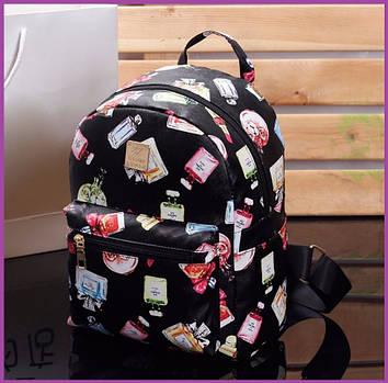 Красивий маленький рюкзак, Маленький рюкзак для дівчинки, Жіночий рюкзак для міста, Стильний жіночий рюкзак