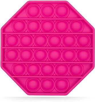 Антистресс Pop It сенсорная игрушка Розовый