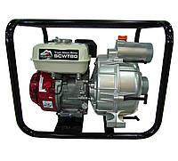 Мотопомпа бензиновая Vulkan SCWT80H для грязной воды с двигателем Honda GX 200