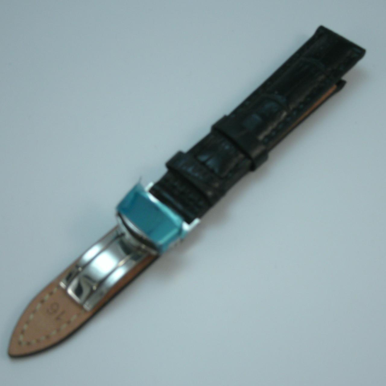 Ремешок для наручных часов  21195 (16 мм) клипса 11.8+7.3