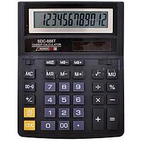 Настольный калькулятор sdc-888t: 12-тиразрядный, на солнечном элементе питания