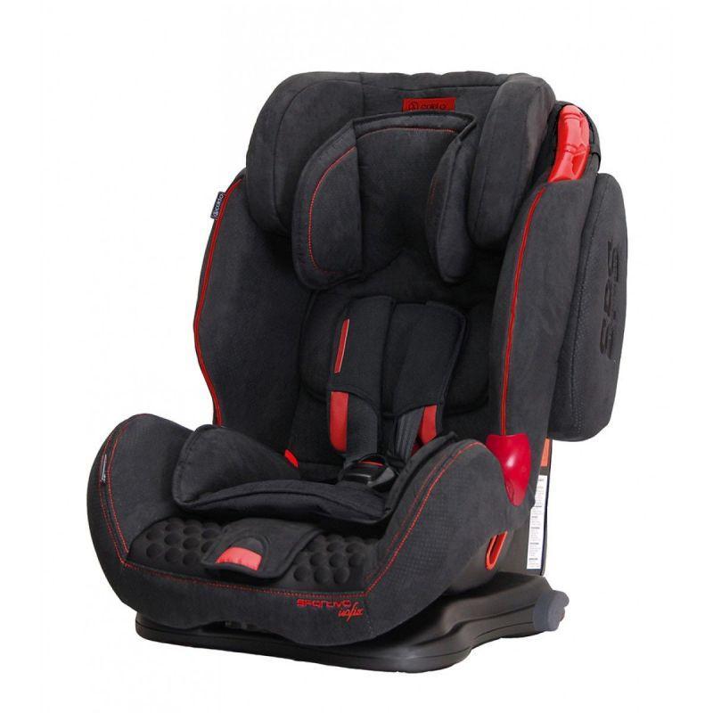 Автокрісло Coletto Sportivo Isofix, колір black NEW