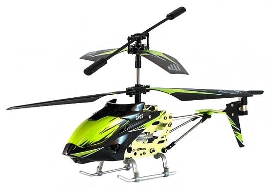 Вертоліт 3-до мікро та/до WL Toys S929 з автопілотом (зелений)