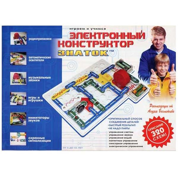"""Конструктор """"Знаток"""" 320 схем"""