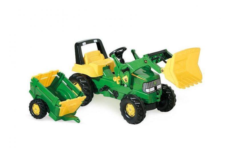 Детский педальный трактор Rolly Toys John Deere 811496