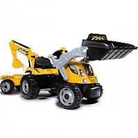 Детский педальный трактор Smoby Max 710301