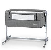 Кроватка-люлька Kinderkraft Neste Up Gray Melange