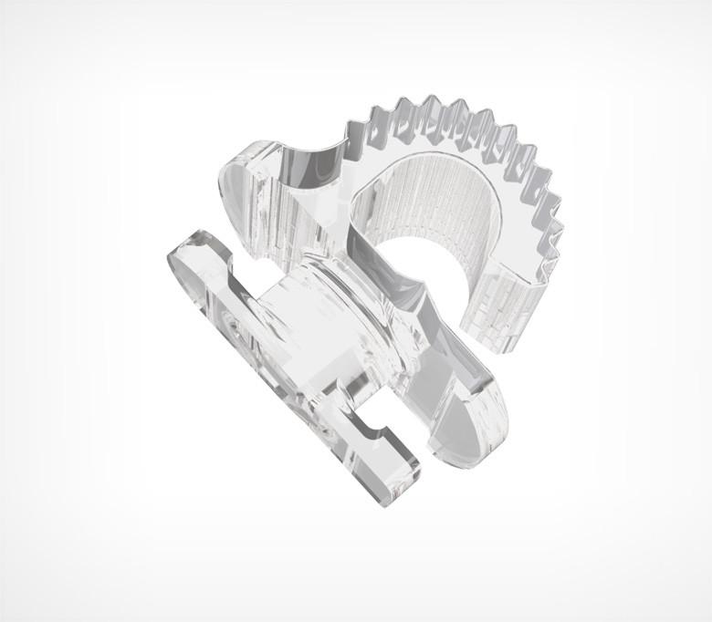 Перехідник для кріплення рамок на ДЕЛІ-систему TECHNO DELI CLIP-112079
