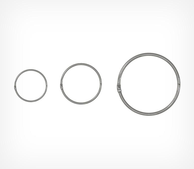 Кольцо металлическое защелкивающееся M-RING-251048