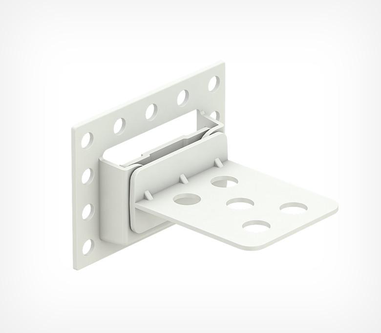Тримач картонній полиці горизонтальний знімний CORR-H-CLIP-254298