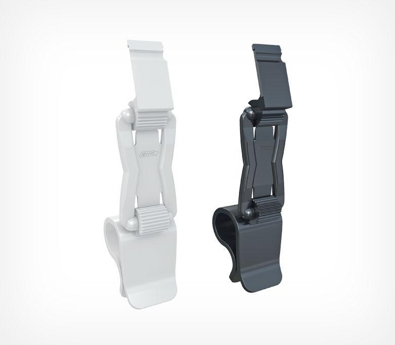 Держатель кассет цен ДЕЛИ для крепления на край посуды на ножке высотой 40 мм PC-DELI-SIDE-SET40-222314
