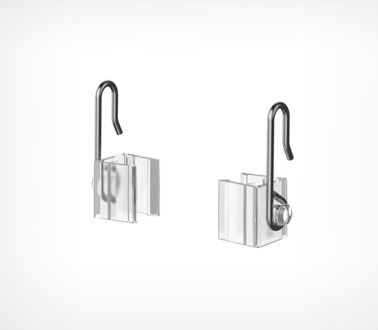 Крючок с подвижным основанием для подвешивания пластиковых рамок MF-CLIP-102215
