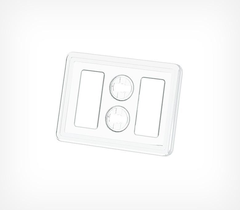 Пластиковая рамка серии ТЕХНО МИНИ формата А8 TM A8-112077