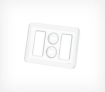 Пластиковая рамка серии ТЕХНО МИНИ формата А8 TM A8-112077, фото 2