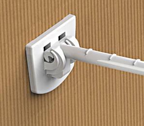 Одинарный пластиковый крючок HOOK - CR-254047, фото 2
