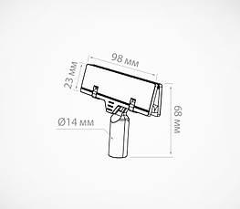 Универсальный держатель для плакатов из картона и пластика POSTER-CLIP-102266, фото 3