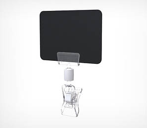 Малый держатель для шарнирного ценникодержателя CLIP SMALL-VL-202010, фото 2