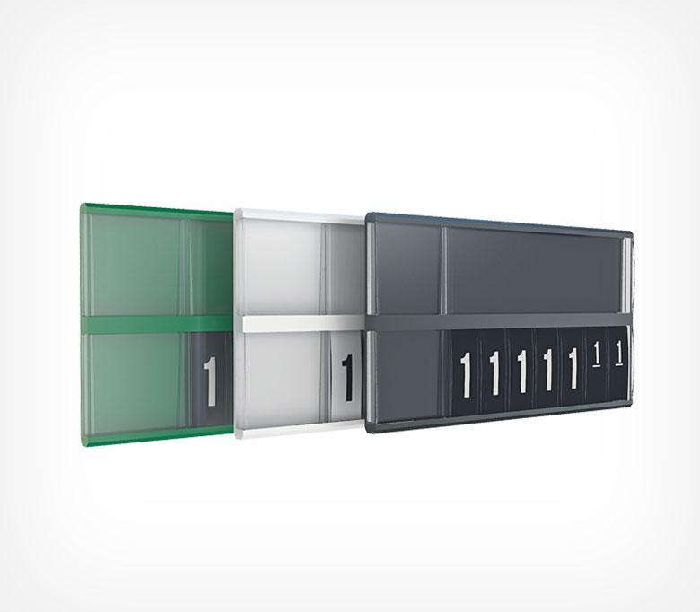 Кассета цен формата A7L с блокнотом REGULAR PC DIGIT-A7L-222167