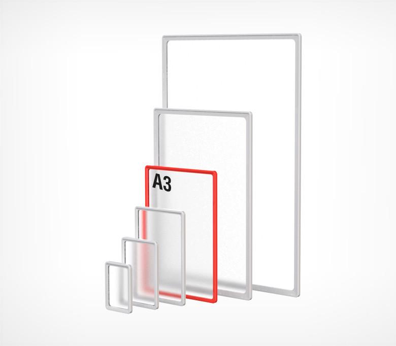 Пластиковая рамка формата А3 PF-A3-102003
