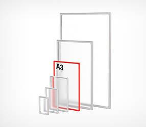 Пластиковая рамка формата А3 PF-A3-102003, фото 2