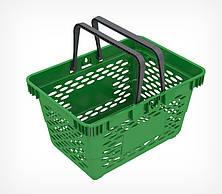 Пластиковая корзинка с двумя ручками CLASSIC-410045, фото 3