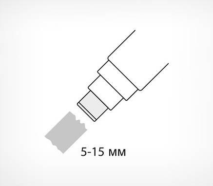 Маркер крейдяної на водній основі, лінія - 15 мм ILLUMIGRAPH 15-102167, фото 2