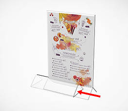 Підставка під меню з трикутним підставою ACR-MENU HOLDER-171188, фото 2