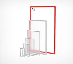 Пластикова рамка формату А1 PF-A1-102001, фото 2