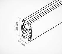UNITRACK Профиль подвесной алюминиевый UNITRACK-282025, фото 3